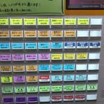 手打らーめん 勝龍 - 2017年6月 券売機