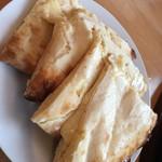 INDIAN RESTAURANT SAPANA - クリームチーズナン