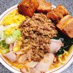 手打らーめん 勝龍 - 角煮冷やしタンタンメン 1370円