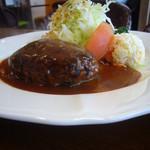 しらき亭 - 料理写真:ハンバーグ