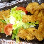丸鶴 - 肉天ぷら