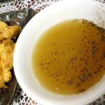 丸鶴 - 肉天ぷらのつけ汁