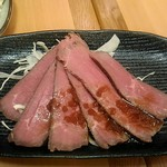 産直仕入れの北海道定食屋 北海堂 - ローストビーフ350円。