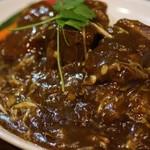 グリルアンドバー ハナヤ - ¥850 シメに是非!上海風角煮カレー