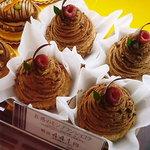 五感 北浜本館 - 五感のモンブランショコラ(軽いけど濃いチョコの味)