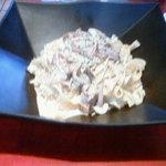 Restaurant Marusyan - レストランマルシャン  ポルチーニ茸と四種類の茸のクリームソース タリアテッレ1200円
