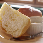 洋風食卓れべる - 大好評なデニッシュ(パン・ライスはお替りできます)