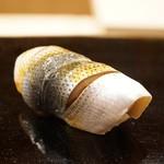 日本橋蛎殻町 すぎた - 小鰭(2016/12)