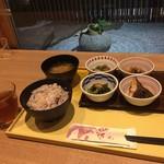 京菜味のむら - 朝食おばんざいセット ¥550-