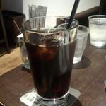 文明堂カフェ - アイスコーヒー