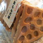 魚間菓子舗 - おらんだ焼き 370円