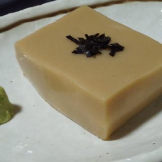 濃厚な胡麻豆腐