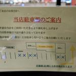 Yo-shoku OKADA - 店舗裏にも駐車場あり〼