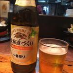 だるま - 瓶ビール600円