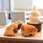 オリーブオイルとソフトクリームのお店 EVERYDAY OLIVE - 《かぐらじゅ》パイ&ソフトクリームセット※パイは、アップルor小豆からお選びください。