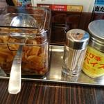 カレーハウス CoCo壱番屋 - 調味料
