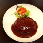 コビアン - ハンバーグ定食690円
