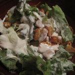 茜 - 料理写真:野菜が美味しいシーザーサラダ
