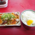 萬福 - ミニ焼豚セット・ライス