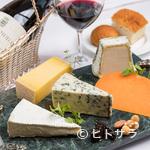 サン・ヴァンサン - チーズ盛り合わせ