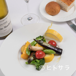 サン・ヴァンサン - イタリアンや和のテイストを取り入れた素材を味わうフランス料理