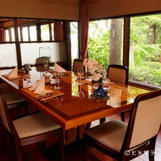 特別な日に最適。鎌倉山の旧家の別荘を思わせる、極上の佇まい