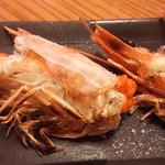 きそぢ - 海老フライ頭・塩焼き
