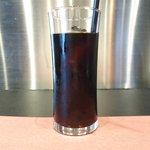 黒毛WAGYU RESTAURANT HACHI - 黒毛和牛ロールキャベツセット 1296円 のアイスコーヒー