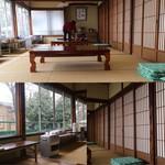 信夫山文庫 - 大きな窓に襖が懐かしい