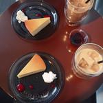 リュモンコーヒースタンド - 上から撮ってみる〜♫カワイイ〜♡