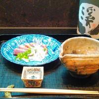 高麗橋桜花 - 料理と日本酒のセレクトもおまかせ下さい。