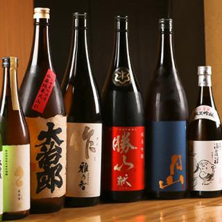 厳選の日本酒達