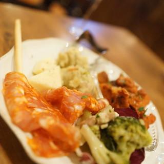 ラ・ジョストラ - 料理写真:前菜5点