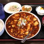 68502415 - 麻婆豆腐定食