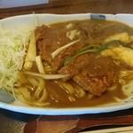 三六 - カツカレーうどん 930円