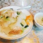 吃八坊 - 料理写真:海鮮餡掛け五目飯