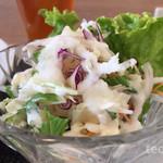 カフェ ストロベリーフィールド - サラダのドレッシングが美味しい