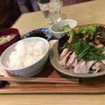 ロッキーハウス - 日替わりランチ(780円)豚しゃぶ