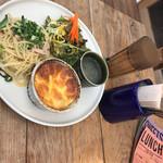 ソラ カフェ - 料理写真:soraのパスタとキッシュのプレート