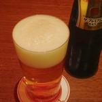 居酒Bar JILL - うすはりのグラスで飲むプレモルはまた旨い