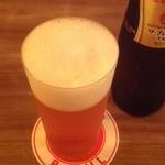 居酒Bar JILL - うすはりのグラスでプレモル旨し