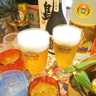 オリオンビールで『あっり、乾杯♪』