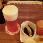 居酒Bar JILL - うすはりグラスでプレモル