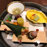 積善館 佳松亭 - 料理写真:前菜