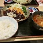 きしめん亭 - お腹いっぱい