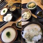 68517687 - おトクな数量限定の、蕎麦とろ300円。他に菜飯田楽と卵かけ御飯もあります♫