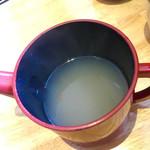 68517689 - 少しのんじゃいましたが、蕎麦湯。
