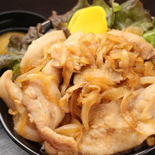 メガ焼肉丼