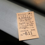 シックスワンハーフ - 一日散歩切符2260円(2017年6月)