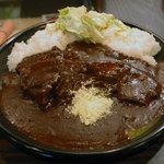 サンアロハ - 豚肉の煮込みカレー